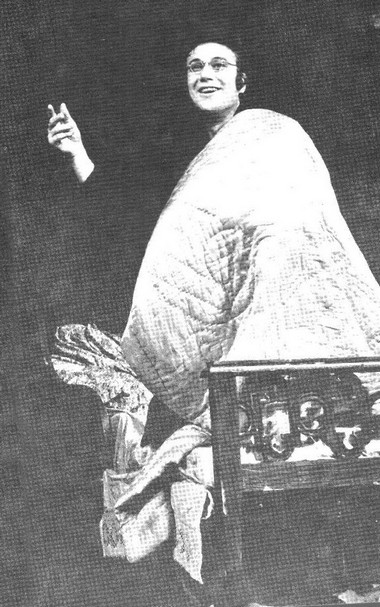 М. Долгинин (Обломов). Фото В. Красикова