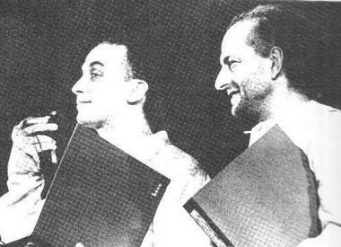 В. Краммер иВ.Полунин. Фото А. Николаева