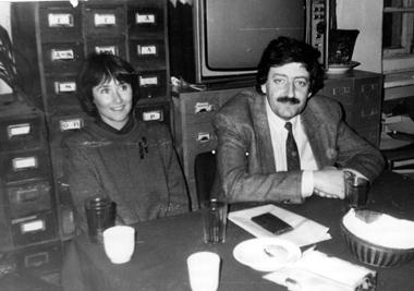 Мыдружили с«Московским наблюдателем»,  аего главный редактор В.Семеновский— «старший брат»— дружил снами.  Даже был воодушевлен нашим появлением,  новдолгую «студийную» жизнь журнала,  поправде говоря, неверил.  Весна 1992г.