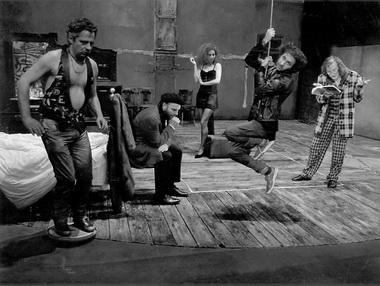 Сцена из спектакля. Фото М. Гардульского