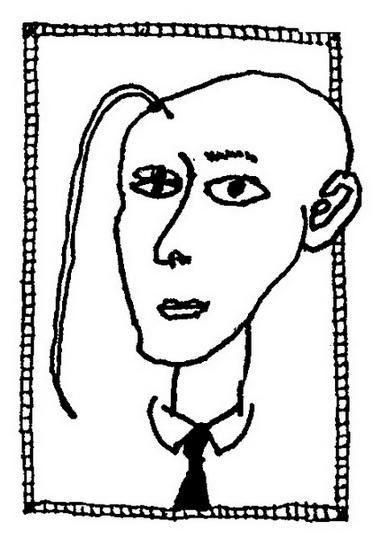 Петр Лебл. Автопортрет
