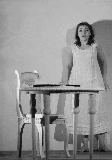 И. Матаева (Татьяна). Фото В. Барановского из газеты «Мариинский театр»