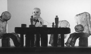 Макеты к спектаклям «Зигфрид» и «Гибель богов». Фото из буклета