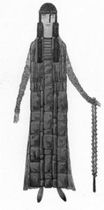Эскиз костюма Снегурочки. Фото из буклета