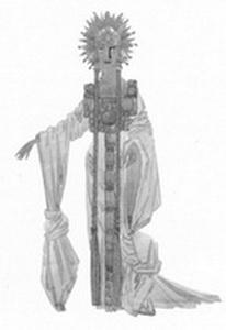 Эскиз костюма Весны. Фото из буклета