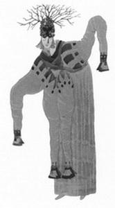 Эскиз костюма Мороза-шамана. Фото из буклета