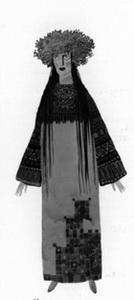 Эскиз костюма Купавы. Фото из буклета