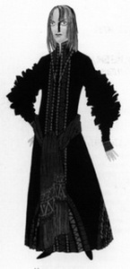 Эскиз костюма Мизгиря. Фото из буклета