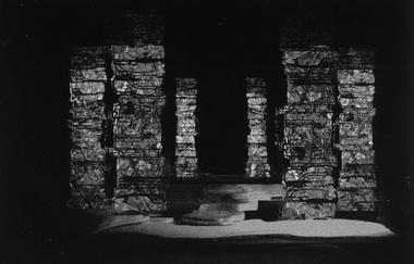 Макет сцены «Храм Берендея». Фото из буклета