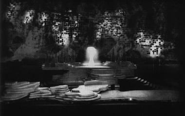 Макет сцены «Зачарованный лес». Фото из буклета