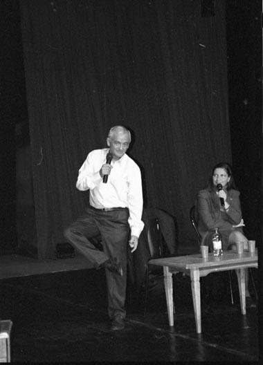 Ф.Солери навстрече вУчебном театре. Фото А. Уреса