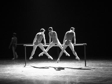 Сцена избалета «Секстет». Фото Н.Разиной