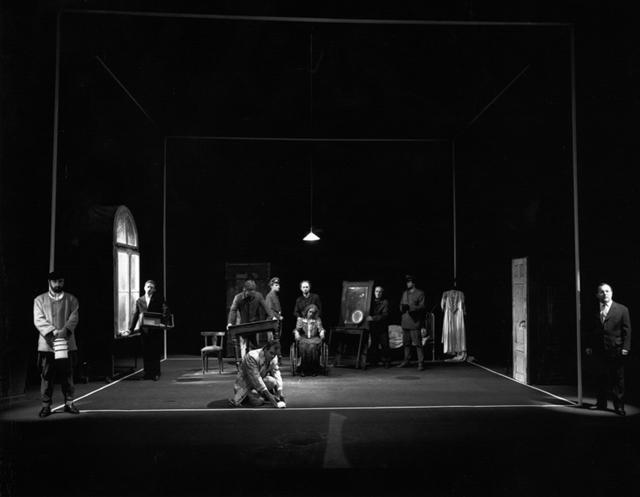 «Калькверк». Сцена изспектакля. Фото изархива фестиваля