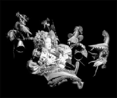 Сцена изспектакля «Щелкунчик имышиный король». Кукольный театр Сказки (Санкт-Петербург). Фото избуклета фестиваля