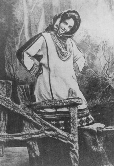 Варя. «Дикарка» А.Н.Островского иН.Я.Соловьева.1895