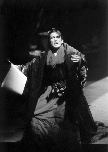 М.Ючино (Перикл). Фото изархива театра