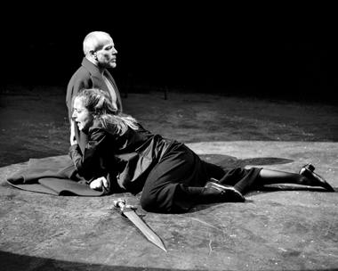 П.Грегори(Тезей), Д.Бланк(Федра). ФотоР.Рибасам