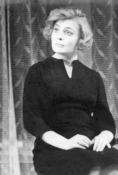 Т.Доронина(Надя). БДТ.1961г. Фото изархива журнала