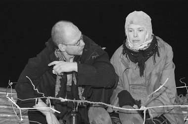 К.Шелестун (Бубнов), Т.Колганова (Кривой Зоб). Фото Ф.Дронова