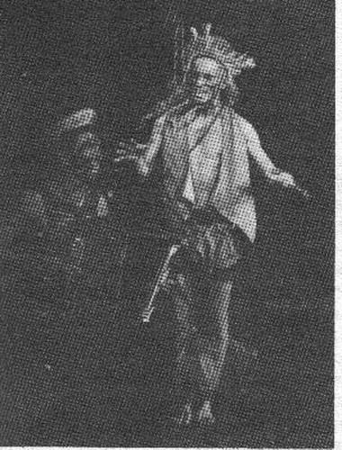 «Всадник». Сцена изспектакля. Фото В. Конрадта