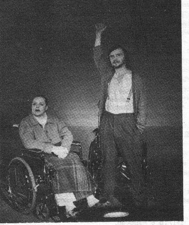 М.Шитова (Старуха) иК.Воробьёв (Серёжа). Фото Ю. Богатырёва