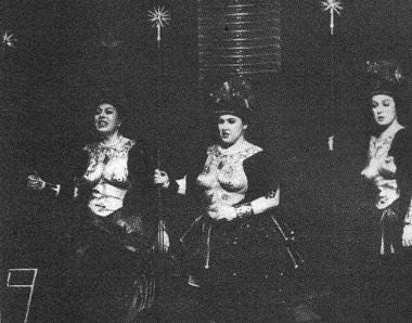 Е.Хороховская, М.Шагуч, С. Волкова (Три дамы). Фото Н. Разиной