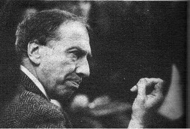 Сергей Юрский насеминаре. Апрель 1993г. Фото В. Дюжаева