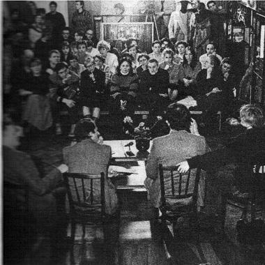 Пресс-конференция памяти Анатолия Эфроса. Фото В. Дюжаева