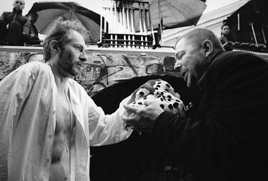 О.Борисов (Николай Аполлонович), В.Романов (Дудкин). ФотоВ.Красикова