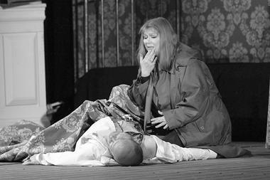 С.Лядов(Тристан), Л.Гоголевская(Изольда). «Тристан иИзольда». Мариинскийтеатр. ФотоН.Разиной