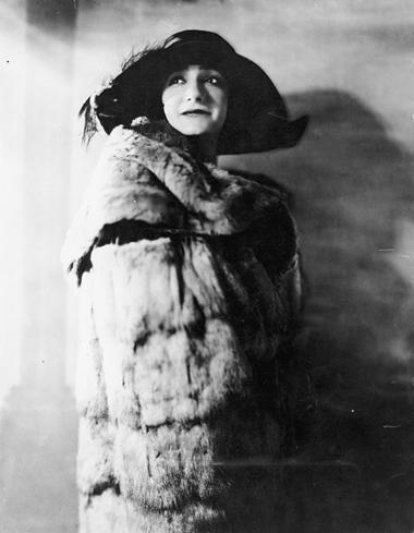 ОдалиКарено(О.Слободская). Конец 1920-х гг. ФотоизархиваИ.Слободской