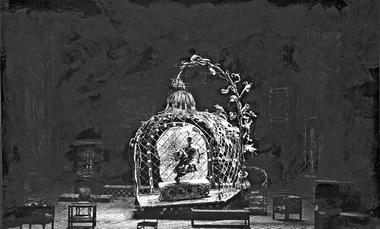 «Камера обскура». Академический театр русской драмы. Рига. Режиссер Л. Белявский