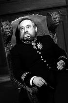 Б. Ступка (Вараввин) на съемках фильма «Полонез Кречинского». Фото из архива автора