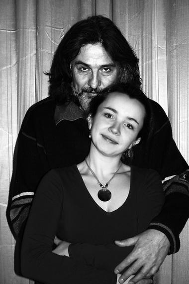 П. Семак и Е. Гороховская в день интервью. 2006 г. Фото Д. Колосова