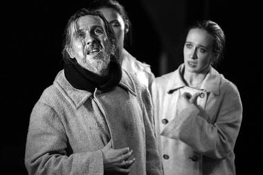 На репетиции спектакля «Король Лир». МДТ — Театр Европы. Фото В. Постнова