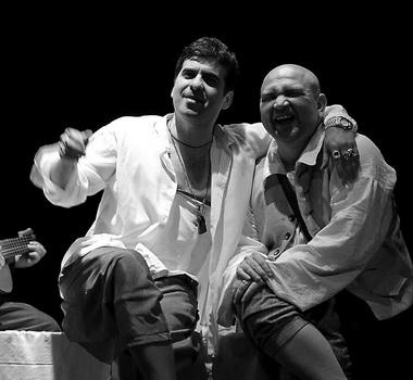 А. Баргман (Дон Жуан), В. Богданов (Сганарель). Театр им. В. Ф. Комиссаржевской. Фото В. Постнова