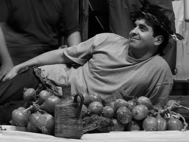 А. Баргман на репетиции спектакля «Дон Жуан». Театр им. В. Ф. Комиссаржевской. Фото В. Архипова