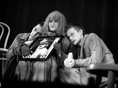 О. Ягодин (Момо). «Мадам Роза». «Коляда-театр». Фото из архива театра