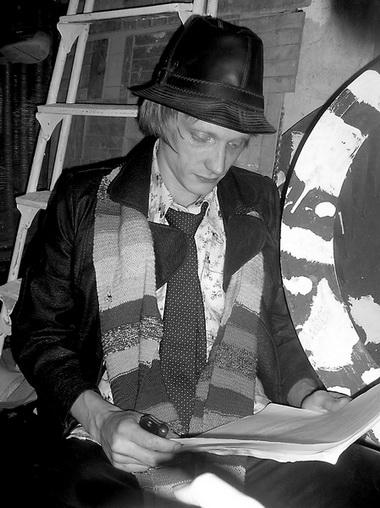 О. Ягодин. Читка пьесы «Все будет хорошо». «Коляда-театр». Фото из архива театра