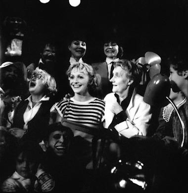Е. Немзер (Пеппи) и Астрид Линдгрен. Театр на Литейном. Фото из архива театра