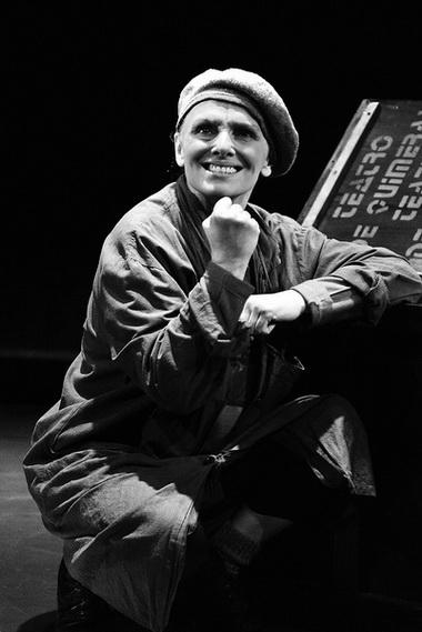 Е. Немзер (Присцила). «Театр Химер». Театр на Литейном. Фото Ю. Белинского