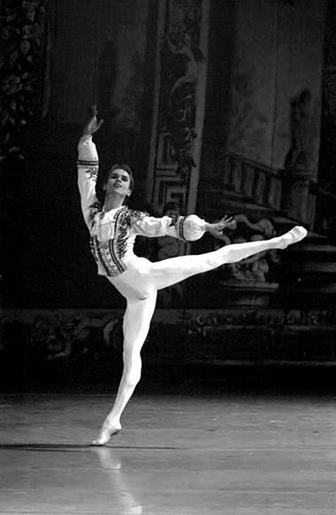 Л. Сарафанов (Базиль). «Дон Кихот». Фото из архива автора