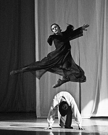 А. Глушаков (Коврин), М. Фомин (Черный монах). Фото М. Логвинова