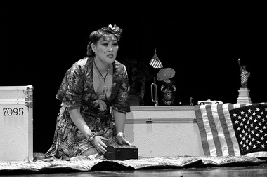 Е. Северина (Баттерфлай). «Чио-Чио-сан». Санктъ-Петербургъ-Опера. Фото из архива театра