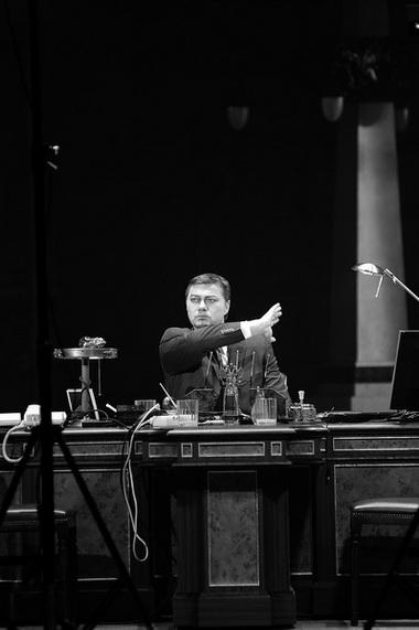 «Борис Годунов». Сцена из спектакля. Staatsoper. Фото из архива театра