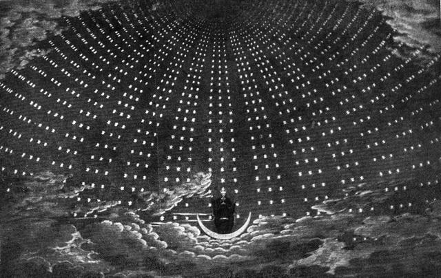Декорация к «Волшебной флейте». Эскиз К. Ф. Шинкеля. Staatsoper