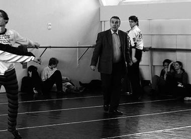 П.Лакотт нарепетиции. ФотоВ.Луповского