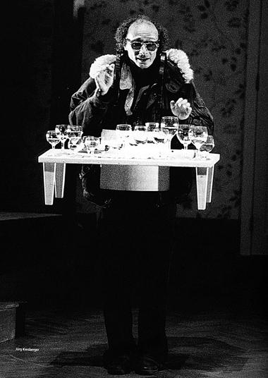 Ю.Кинбергер (Клавишник). «Свадьба Фигаро». Фотоизбуклета кспектаклю