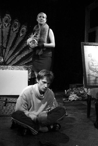 И.Ермолова (Нина), О.Ягодин (Костя). ФотоВ.Андреева