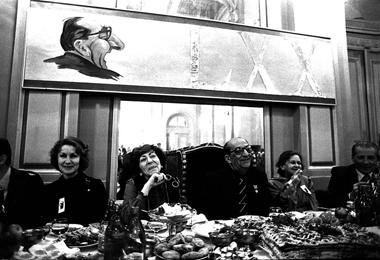 Юбилей Г. Товстоногова. 1983г.